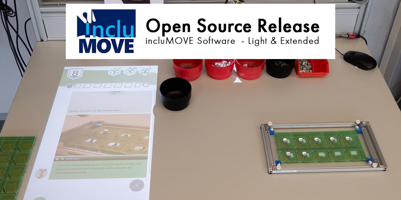 incluMOVE Software: Open Source Release